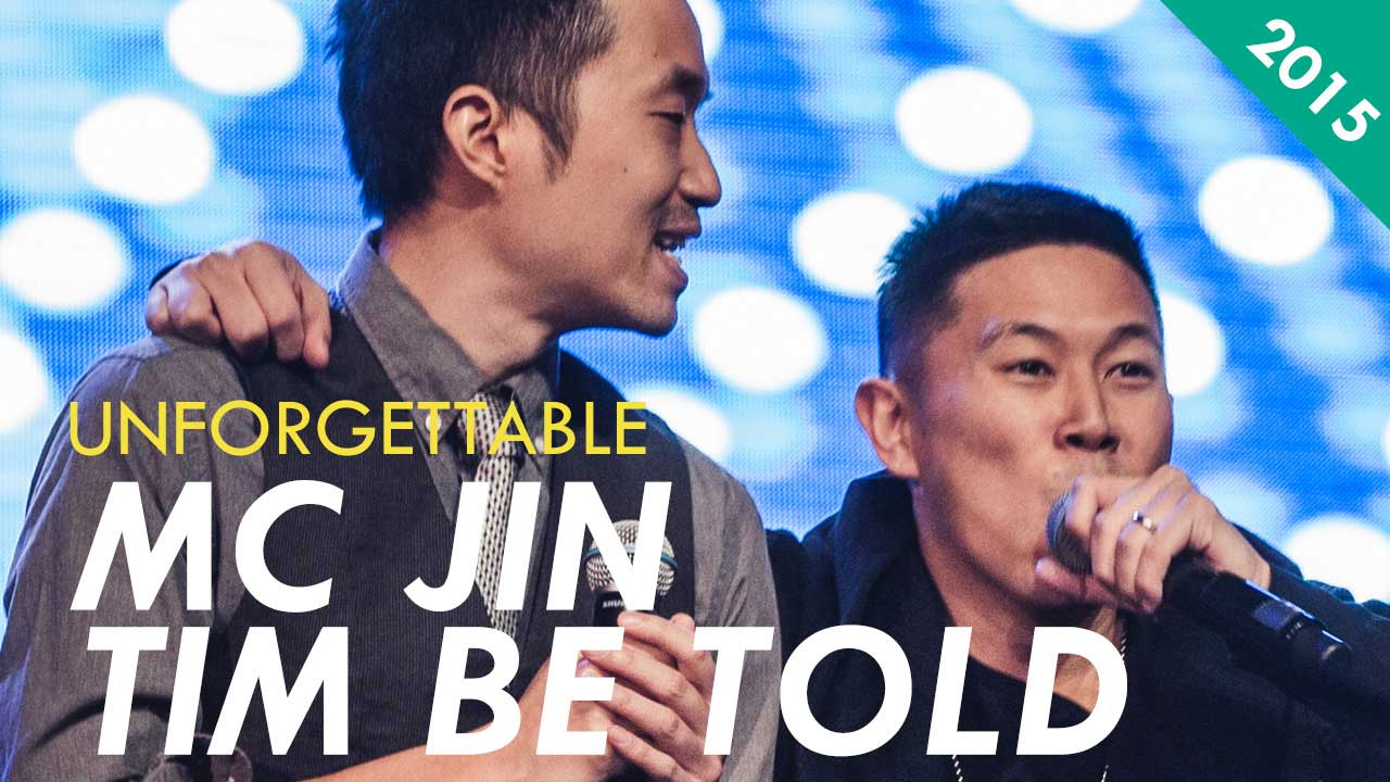 MC Jin and Tim